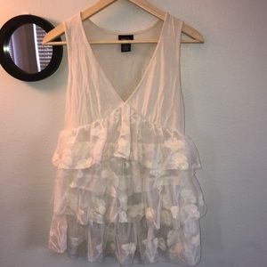 💀 RUE 21 Lace Tank